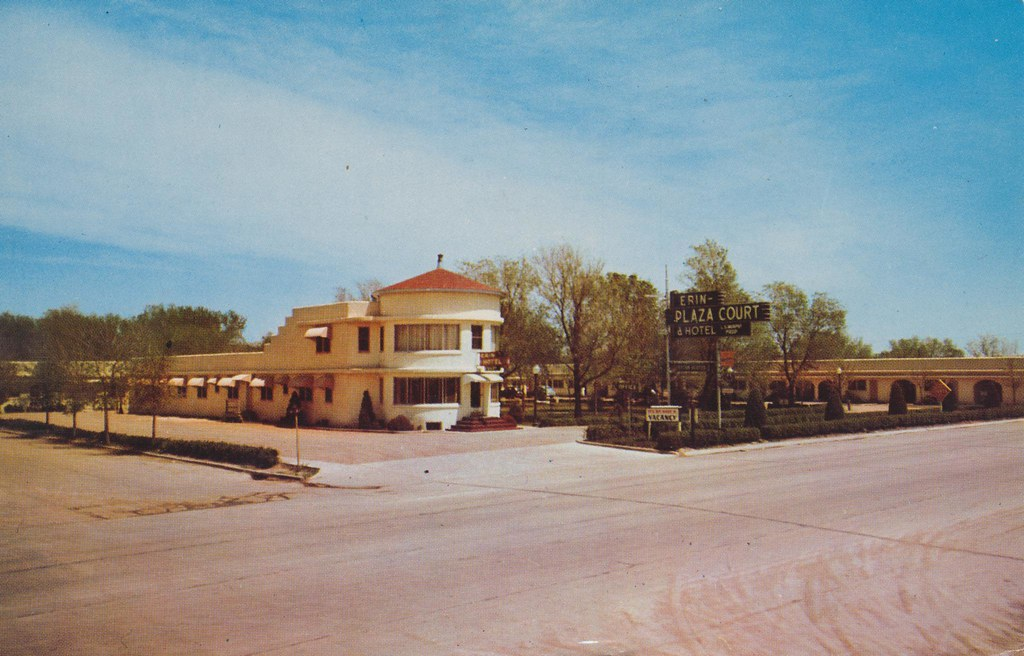 Erin Plaza Court and Hotel - Ogallala, Nebraska