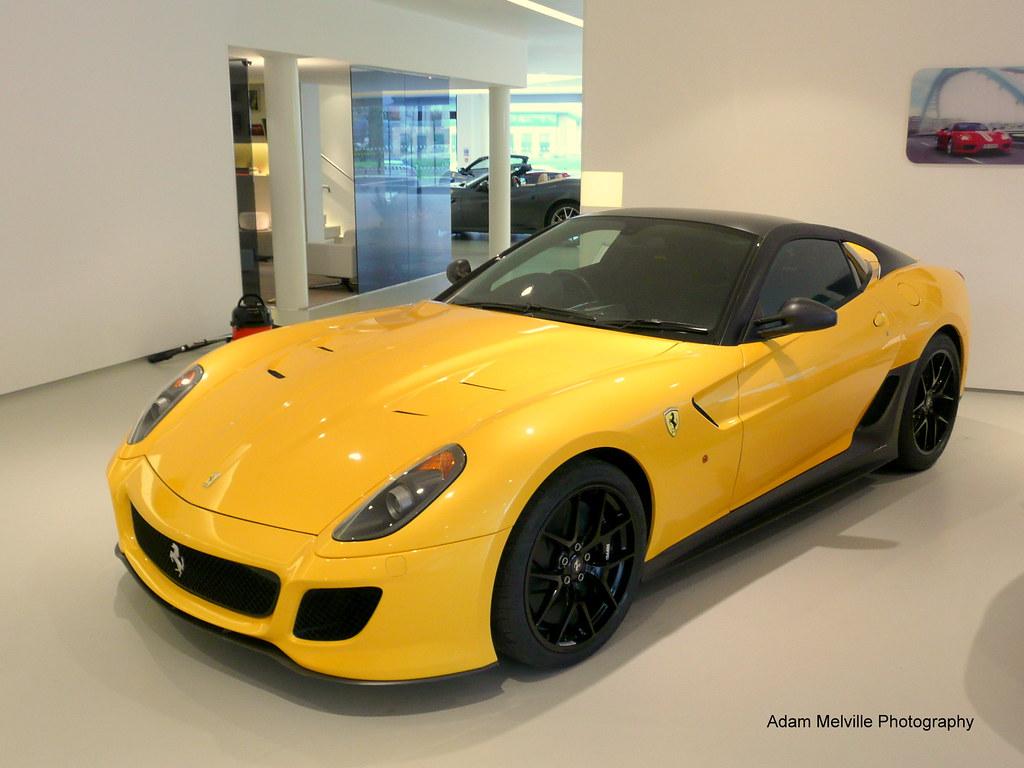 ... Ferrari 599 GTO   By Adam Melville