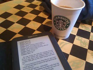 A book and a coffee | by James Cridland
