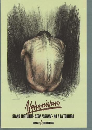 amnesty norway campaign stop torture in afghanistan poster flickr. Black Bedroom Furniture Sets. Home Design Ideas