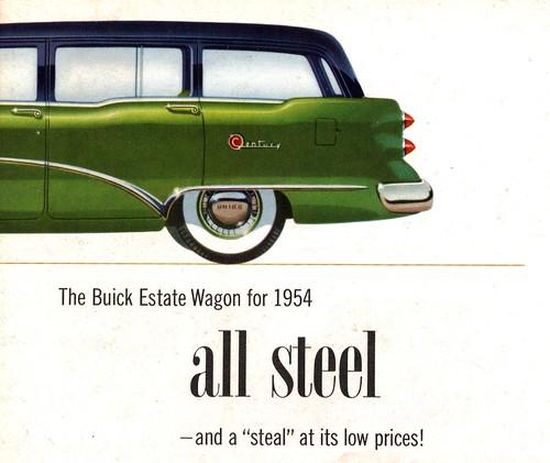 Buick Century Station Wagon For Sale: 1954 Buick Century Estate Wagon