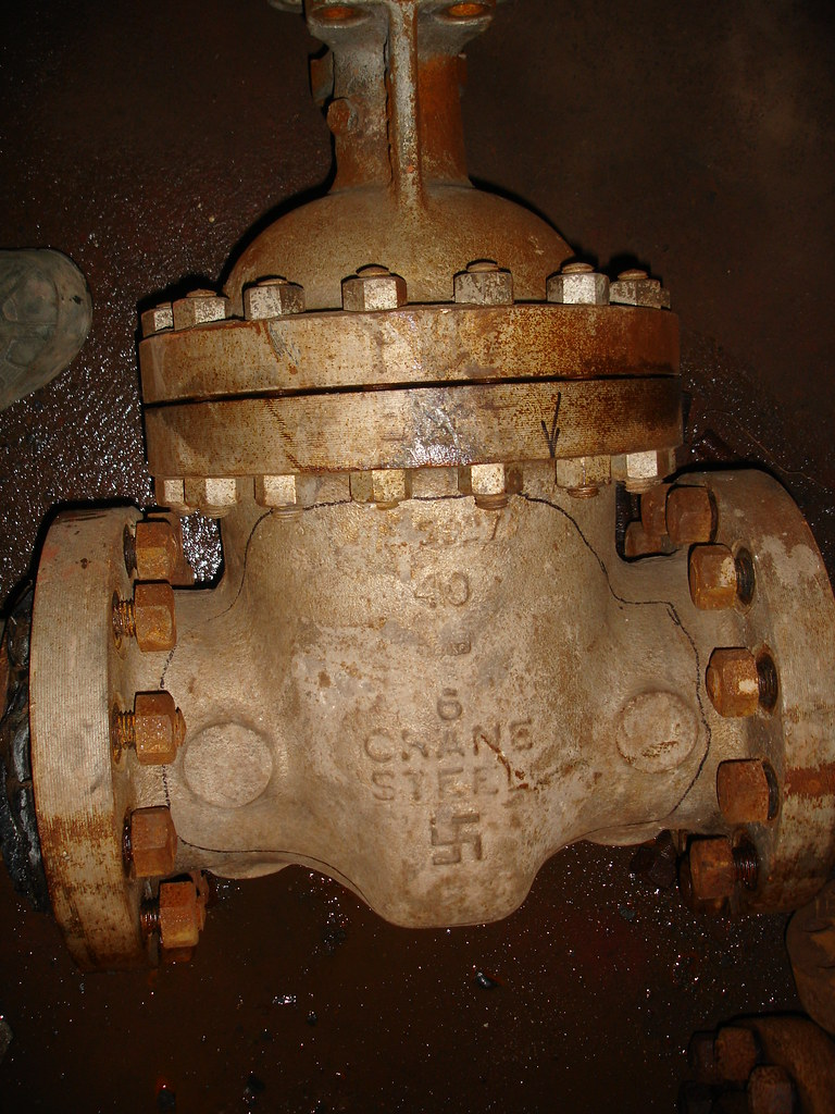 Vintage Crane Steam Valve Swastika   No, it isn\'t a German-m…   Flickr