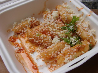 Spicy Rice Cake from Kimchi Taco Truck | by nycblondieandbrownie