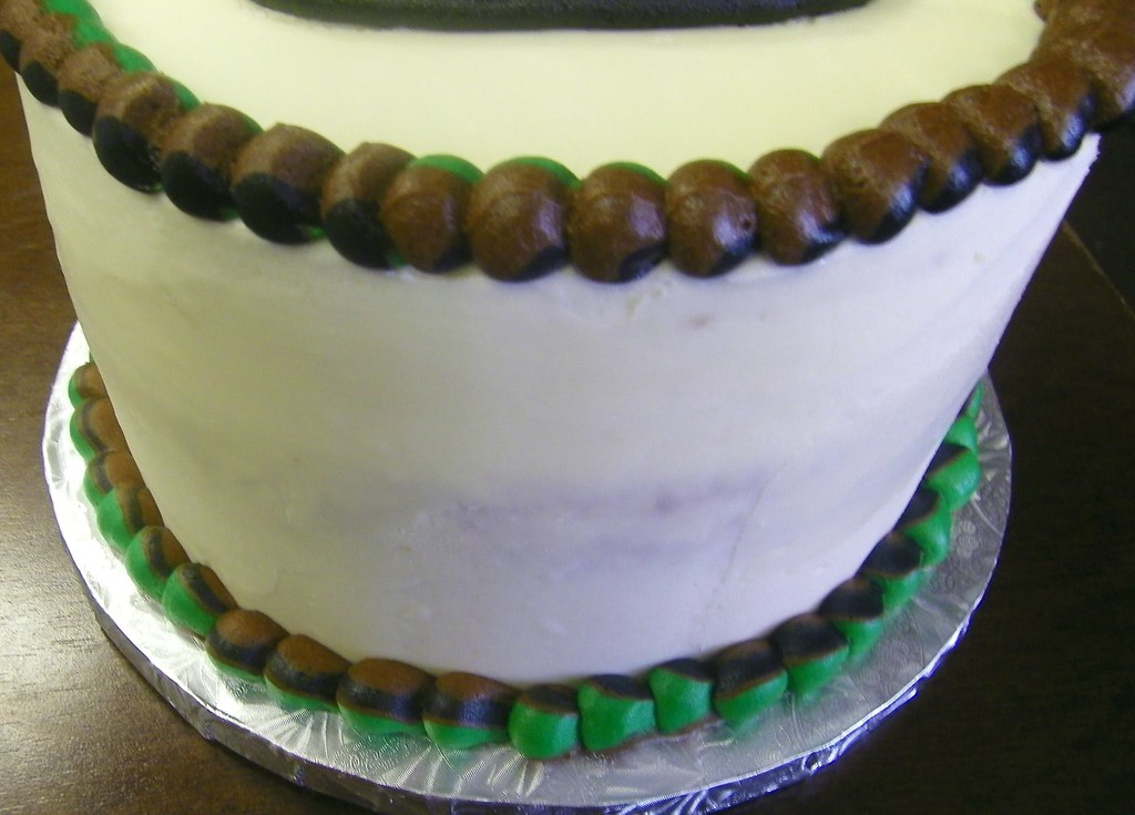 Army Birthday Cake By Patty Cakes Bakery Close Up Of Camo Flickr