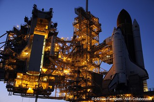 16 Endeavour at Launch Pad - Photo Credit: Michele Famiglietti AMS-02 Collaboration | by ams02web