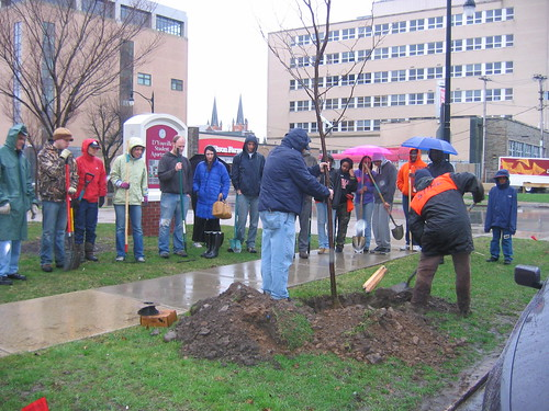 2011 Spring Tree Planting Demonstration | by Heart of the City Neighborhoods