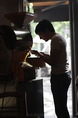 coffee roaster | by David Lebovitz