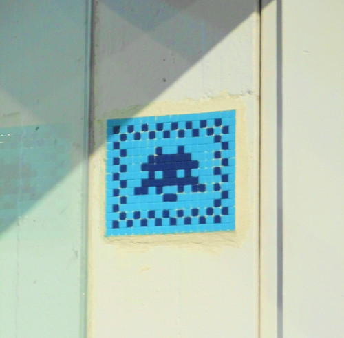 Art In The Streets:  Space Invader | by John Xavier 1975