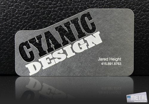 Metal Business Card | by MyMetalBusinessCard
