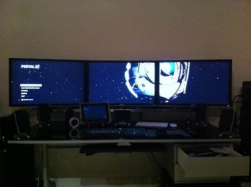 "Triple Dell 30"" in eyefinity 