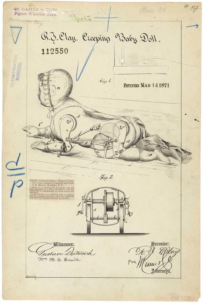 Drawing Of Creeping Baby Doll 03 14 1871 03 14 1871 Flickr