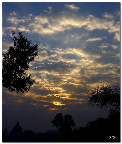 Framed Sunrise | by Yogendra174