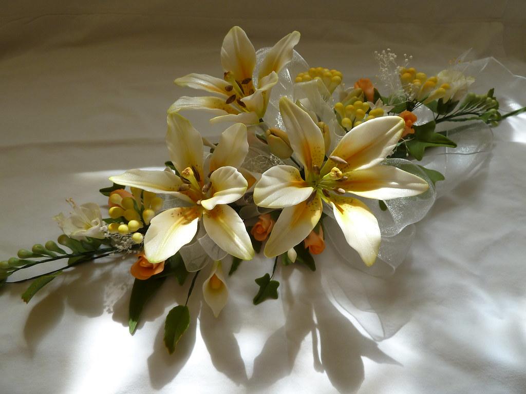 Sugar Bridal Bouquet Handmade Sugar Flower Bouquet Lilie Flickr