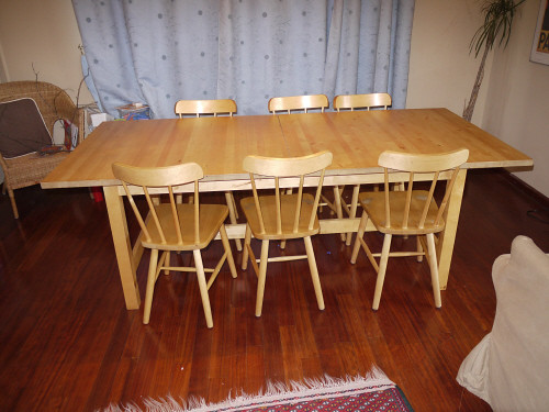 Norden pine dining table seats 8 12 200tl 10 dining c flickr norden pine dining table seats 8 12 200tl 10 dining chairs watchthetrailerfo