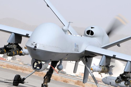 RAF Reaper MQ-9 Remotely Piloted Air System | by Defence Images