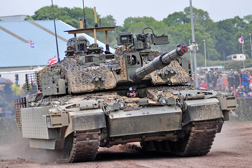 Challenger 2 in Theatre deployment  set up | by Peeteekayy