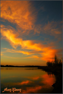 Sunset - the sky aflame with great love | by Aum Kleem