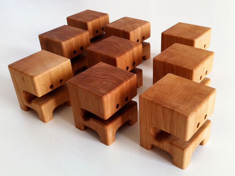 Waaghblock quot elm wood toys by pepe flickr