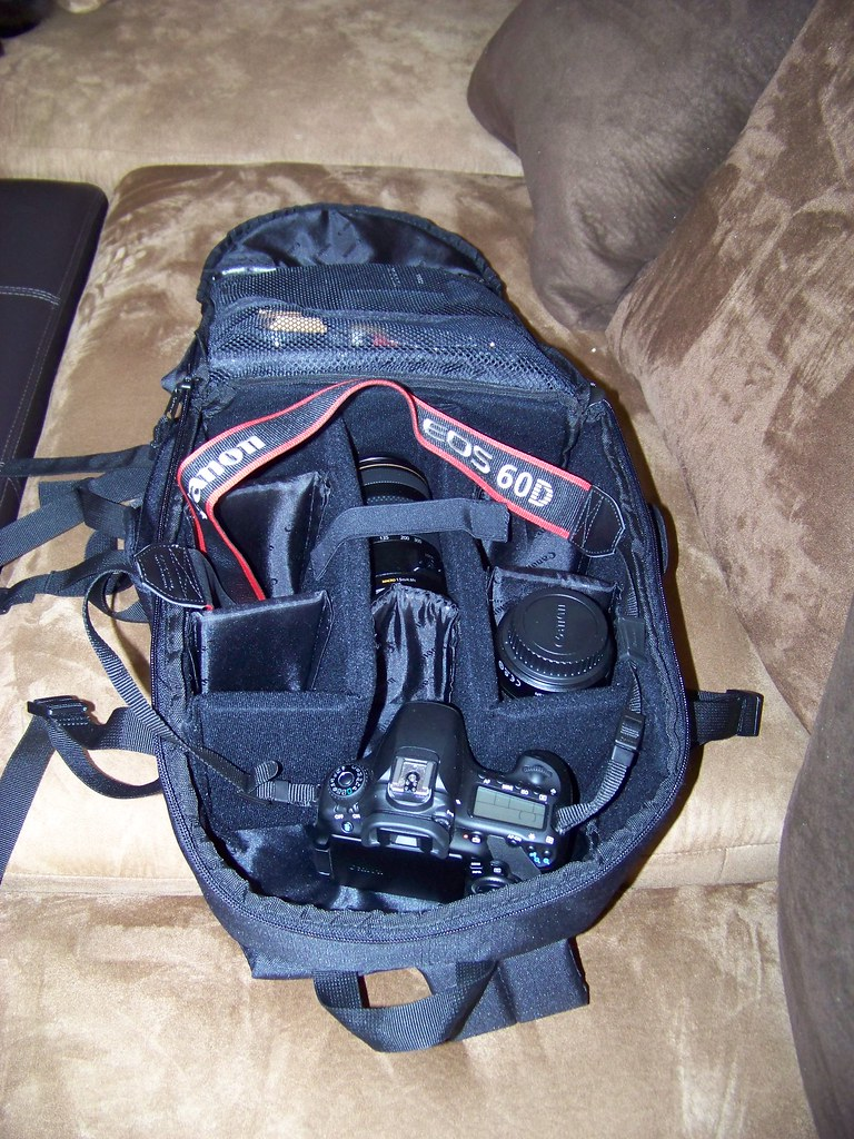 Canon Deluxe Photo Backpack 200eg For Canon Eos Slr Camera Flickr