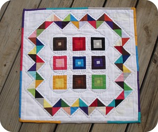 Cacophony of Color - Bella Solids Parade | by A Blond Quilts