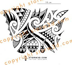forearm flames tribal polynesian tattoo design a mix of ol flickr. Black Bedroom Furniture Sets. Home Design Ideas