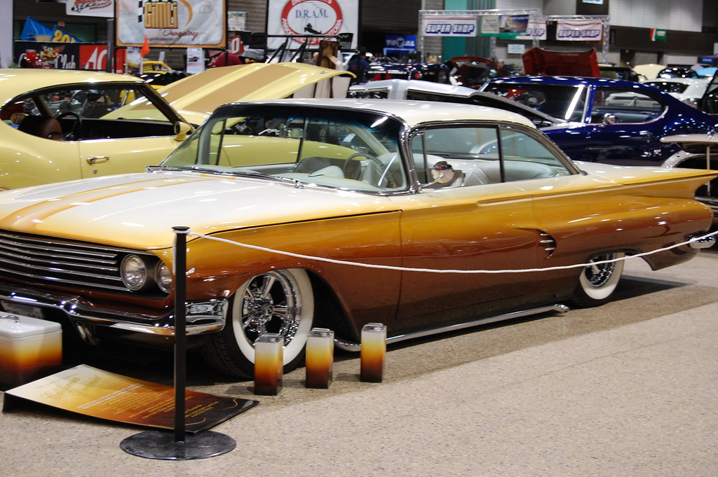 Pete Kroeker S Dmk Customs 60 Chevy Impala Was Painted Flickr