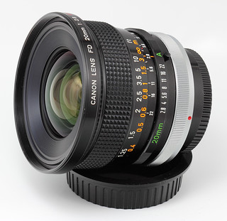 Canon FD 20mm f/2.8 S.S.C. Lens | by s58y