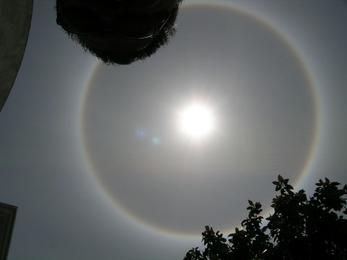The Sun - 22-degree halo | by burndog