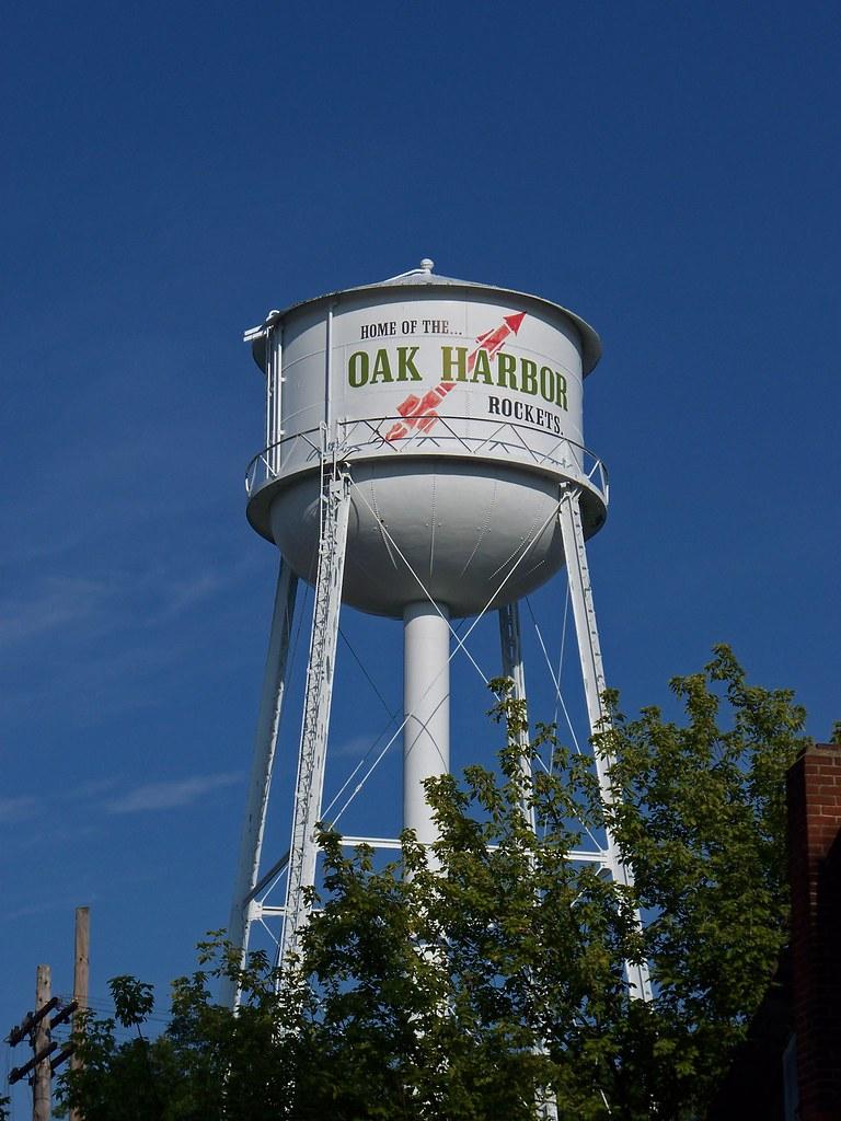 ... OH Oak Harbor   Water Tower 2 | By Scottamus