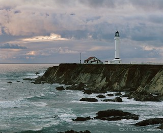 The Point Arena Lighthouse - Mendocino- County, California  Pentax 6x7 - 200mm f/4 - Astia 100 | by divewizard