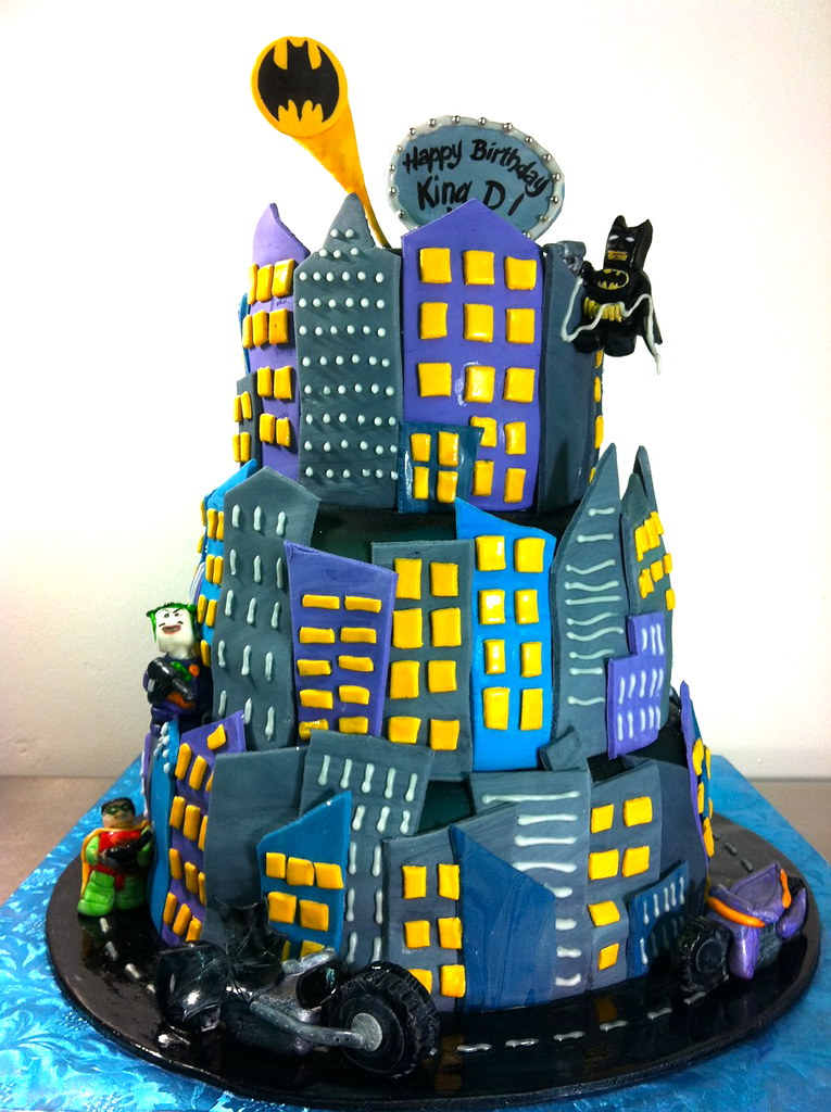 LEGO Batman Joker Cake wwwcakesbygabycom Gaby Triana Flickr
