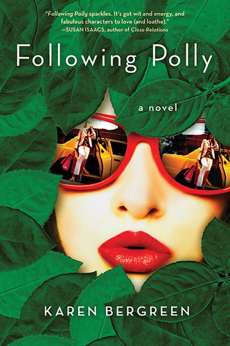 """Following Polly"" Book Cover by Karen Bergreen! 