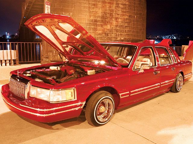1994 Lincoln Town Car Lowrider Jaw Propper 6 Cce Hydraulics Flickr