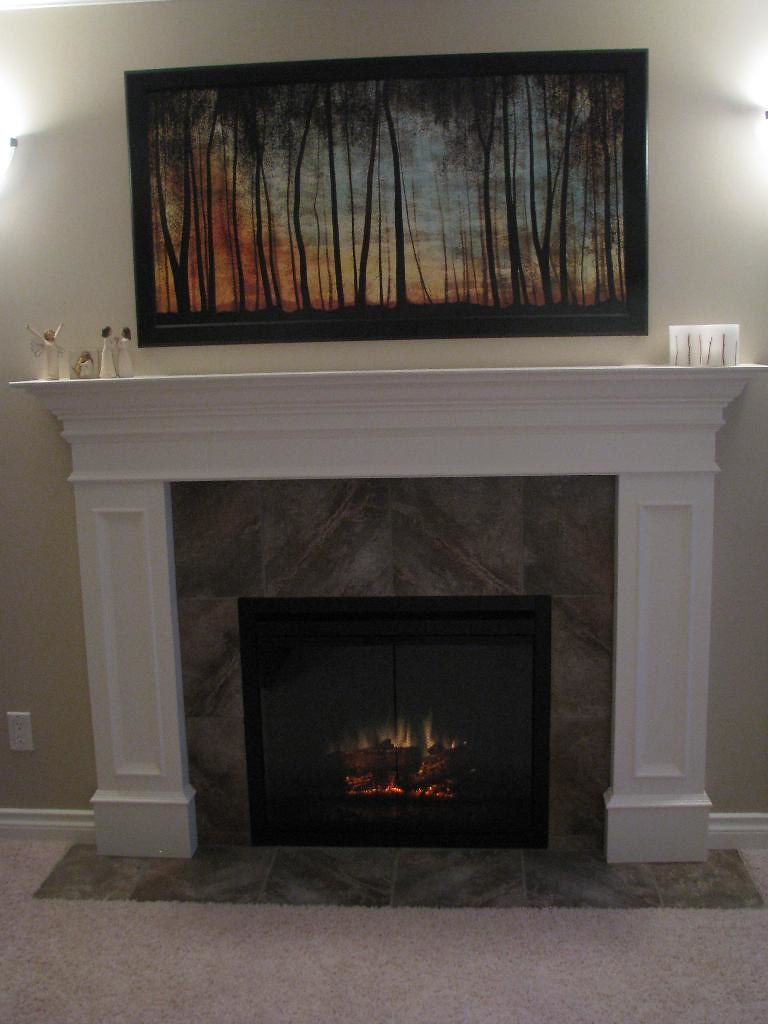 Classic Flame 33 Built In Electric Fireplace Wheeler From Flickr