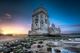 Belem Tower At Sunrise - (HDR Lisbon, Portugal) | by blame_the_monkey
