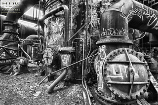 Carrie Furnace in B&W HDR | by Dave DiCello