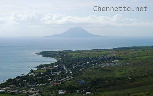View of St Eustatius from St Kitts | by Chennette