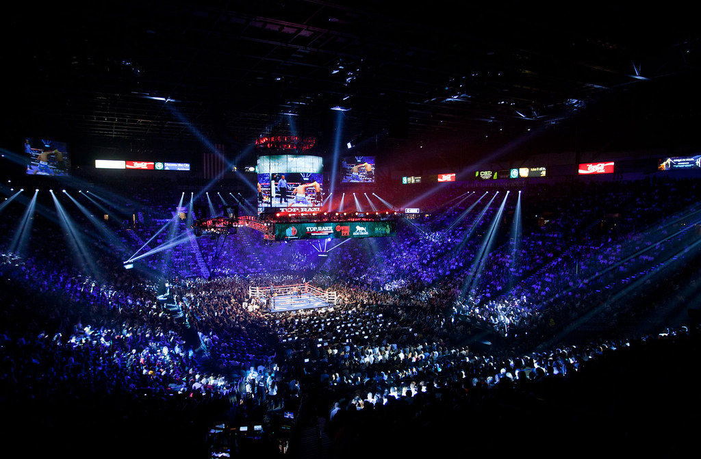 ... MGM Grand Garden Arena | By Showtime_sports