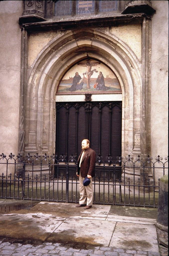 ... Castle Church Door in Wittenberg | by Normann & Castle Church Door in Wittenberg | Ebbehart Runge in Wittenbu2026 | Flickr