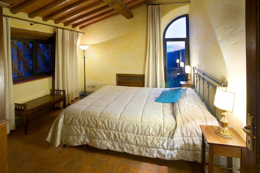 Letto A Castello Camera Da Letto.Camera Da Letto In Vignanova Castello Di Meleto Flickr