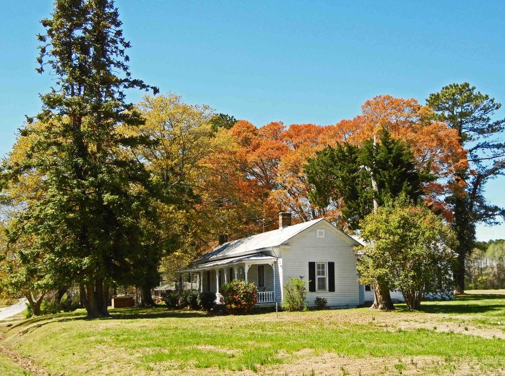 Old Farm House: South of Macclesfield, Edgecombe County, N