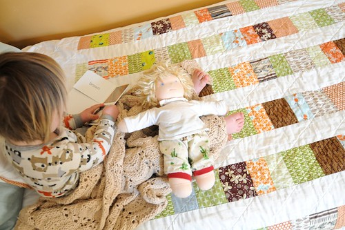 a quilt for harper | by SouleMama