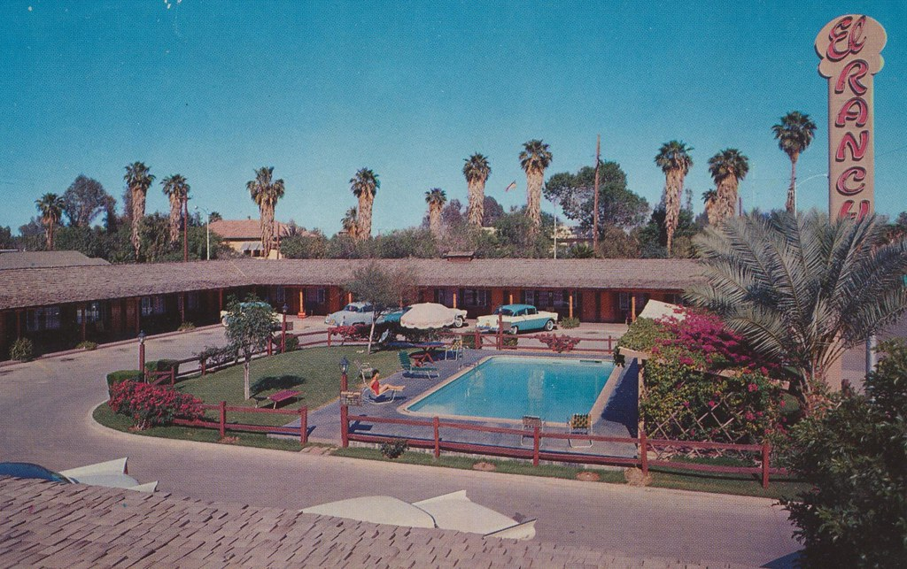 The El Rancho Motor Hotel - Calexico, California