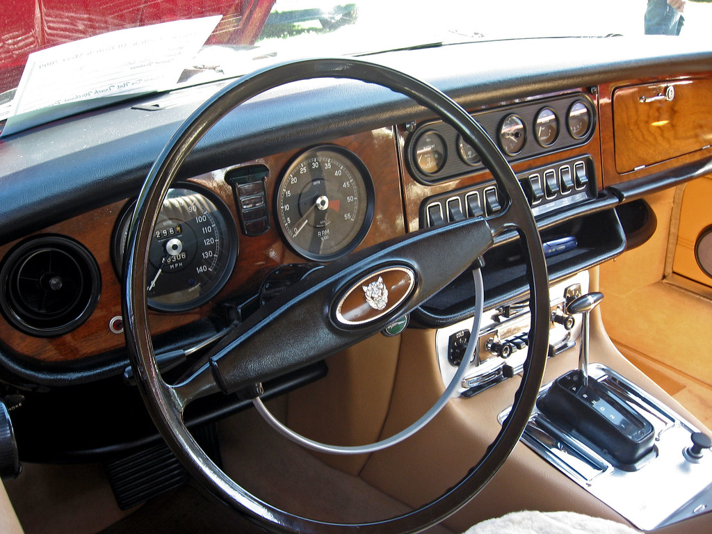 ... 1972 Jaguar XJ6 Dashboard | By Ate Up With Motor
