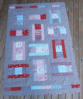 Comic Strip quilt washed | by aquilterstable