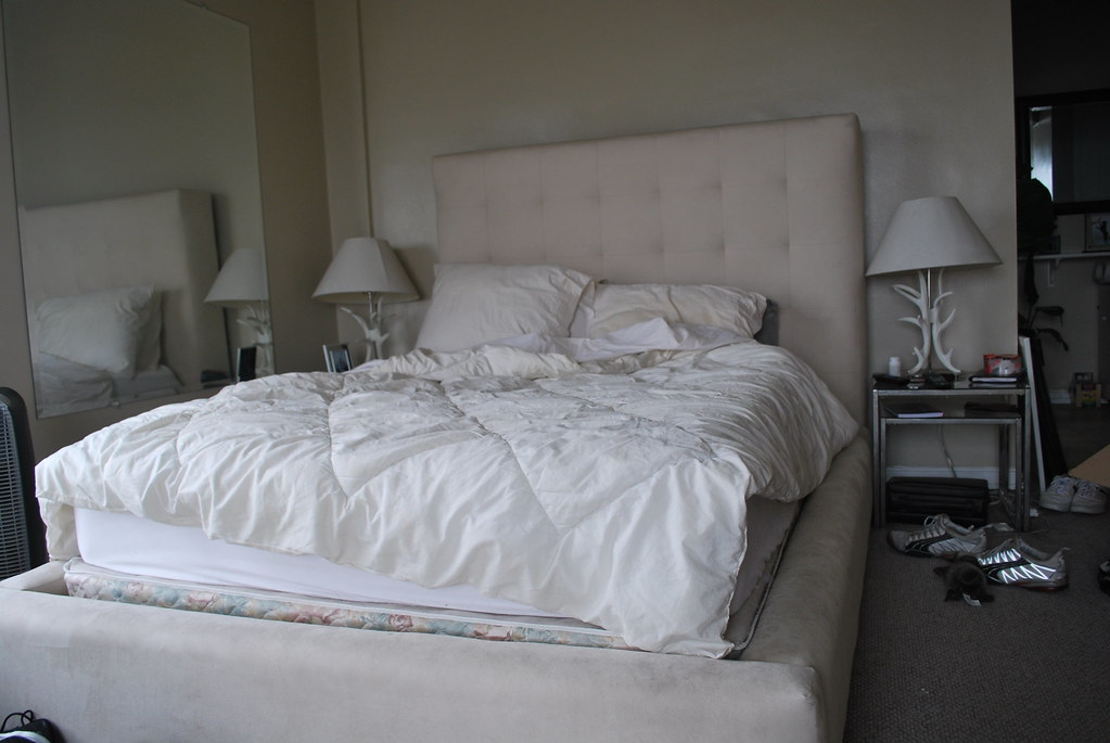 ... Z GALLERIE COMPLETE QUEEN LESLIE BED SOLD! | By Moving! Go Go Go