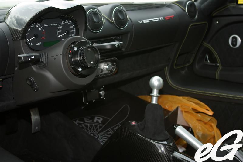 Marvelous ... Hennessey Venom GT Interior | By EGarage.com