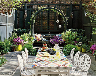 Outdoor Patio | by Jessie {Creating Happy}