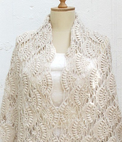 bridal shawl wrap pattern | Available at my Etsy shop. pleas… | Flickr