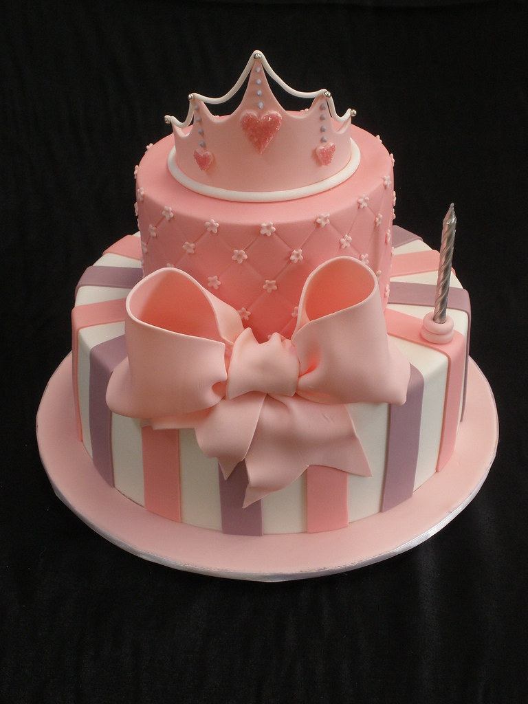 Princess Cake A Princess Cake For A Little Girls First Bi Flickr